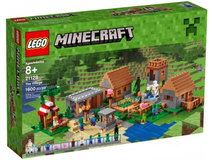 Lego Minecraft 21128 The Village (Vesnice)