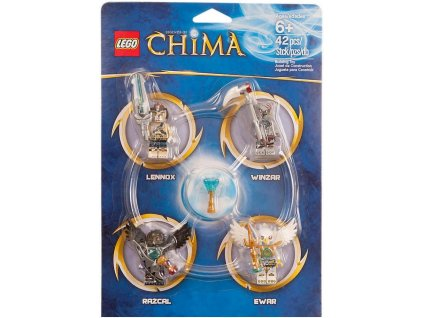 Lego CHIMA 850779 Set minifigurek