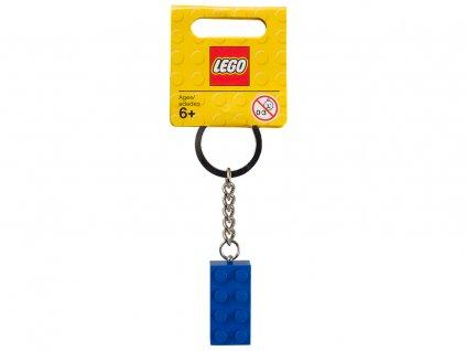 LEGO 850152 Přívěšek na klíče kostička modrá