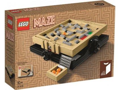 Lego Ideas 21305 Bludiště  + volná rodinná vstupenka do Muzea LEGA Tábor v hodnotě 370 Kč