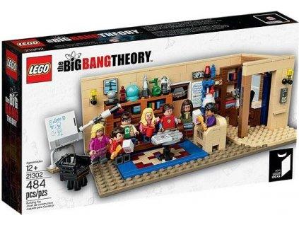 Lego IDEAS 21302 The Big Bang Theory  + volná rodinná vstupenka do Muzea LEGA Tábor v hodnotě 370 Kč