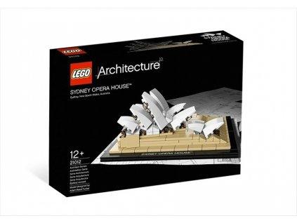 LEGO Architecture 21012 Sydney Opera House  + volná rodinná vstupenka do Muzea LEGA Tábor v hodnotě 370 Kč