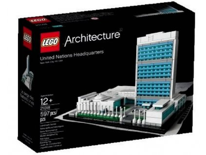 Lego Architecture 21018 United Nations Headquarters