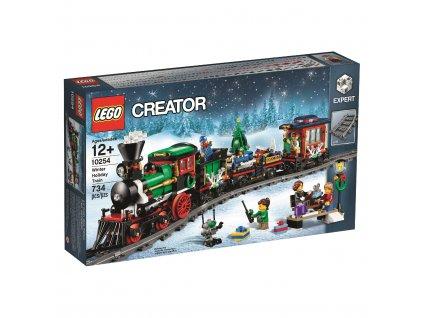 LEGO 10254 Winter Holiday Train  + volná rodinná vstupenka do Muzea LEGA Tábor v hodnotě 370 Kč