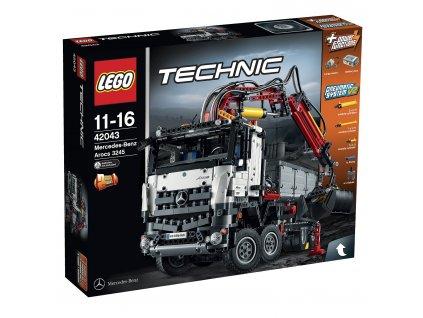 Lego Technic 42043 Mercedes-Benz Arocs 3245  + volná rodinná vstupenka do Muzea LEGA Tábor v hodnotě 370 Kč