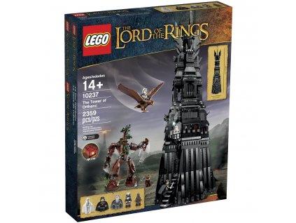 LEGO Lord of the Rings 10237 Tower of Orthanc  + volná rodinná vstupenka do Muzea LEGA Tábor v hodnotě 370 Kč