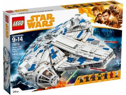 Lego Star Wars 75212 Kessel Run Millennium Falcon™  + volná rodinná vstupenka do Muzea LEGA Tábor v hodnotě 370 Kč