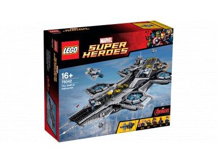 Lego Super Heroes 76042 The SHIELD Helicarrier  + volná rodinná vstupenka do Muzea LEGA Tábor v hodnotě 370 Kč