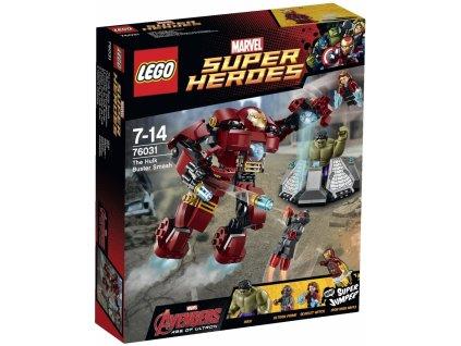 LEGO Super Heroes 76031 Hulk: pancéřový úder