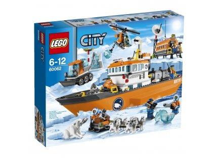 Lego City 60062 Arctic Ice Breaker  + volná rodinná vstupenka do Muzea LEGA Tábor v hodnotě 370 Kč