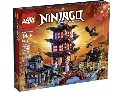 LEGO Ninjago 70751 Temple of Airjitzu