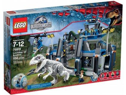 LEGO JURASSIC WORLD 75919 Útěk Indominuse Rexe  + volná rodinná vstupenka do Muzea LEGA Tábor v hodnotě 370 Kč