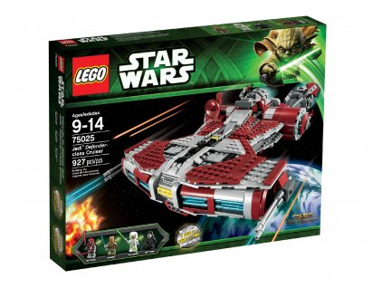 LEGO Star Wars 75025 Jedi Defender-class Cruiser  + volná rodinná vstupenka do Muzea LEGA Tábor v hodnotě 370 Kč