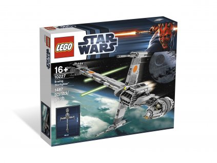 LEGO Star Wars 10227 B-Wing Starfighter  + volná rodinná vstupenka do Muzea LEGA Tábor v hodnotě 370 Kč