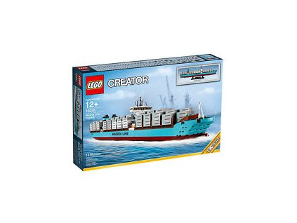 Lego Creator 10241 Maersk Line Triple-E  + volná rodinná vstupenka do Muzea LEGA Tábor v hodnotě 370 Kč