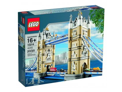 LEGO Creator 10214 Tower Bridge  + volná rodinná vstupenka do Muzea LEGA Tábor v hodnotě 370 Kč