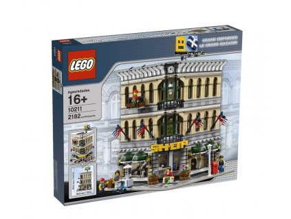 Lego 10211 Grand Emporium  + volná rodinná vstupenka do Muzea LEGA Tábor v hodnotě 370 Kč