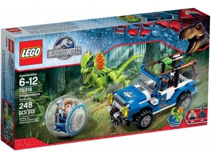 LEGO JURASSIC WORLD 75916 Léčka na Dilophosaura