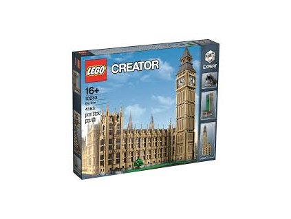 Lego Creator 10253 Big Ben  + volná rodinná vstupenka do Muzea LEGA Tábor v hodnotě 370 Kč