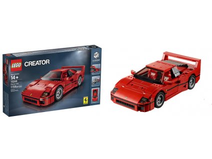 Lego Creator 10248 Ferrari F40  + volná rodinná vstupenka do Muzea LEGA Tábor v hodnotě 370 Kč
