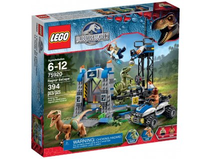 Lego Jurassic World 75920 Útěk Raptora