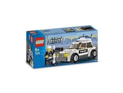 LEGO City 7236 Policejní auto