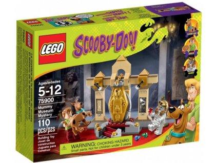 LEGO Scooby Doo 75900 Strašidelné muzeum mumií