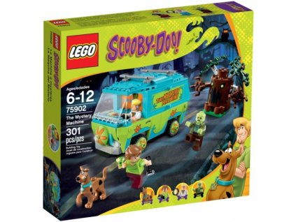 LEGO Scooby Doo 75902 Tajemný stroj