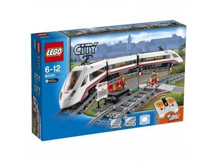 Lego CITY 60051 vysokorychlostní osobní vlak  + volná rodinná vstupenka do Muzea LEGA Tábor v hodnotě 370 Kč