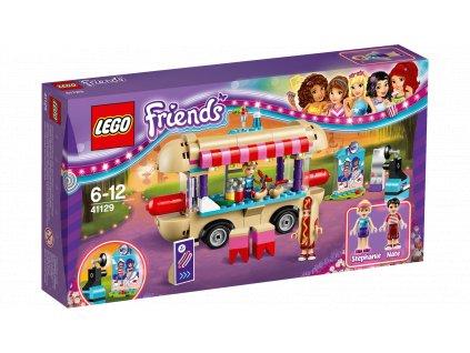 LEGO Friends 41129 Dodávka s párky v rohlíku v zábavním parku