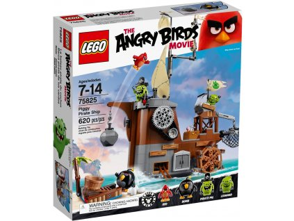 LEGO 75825 ANGRY BIRDS Piggyho pirátská loď