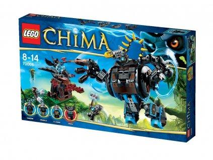 Lego Chima 70008 Gorzanův gorilí útočník