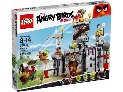 LEGO Angry Birds 75826 Hrad krále Prasete
