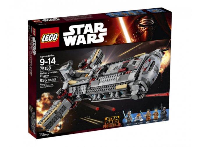 LEGO Star Wars 75158 Bojová loď Povstalců  + volná rodinná vstupenka do Muzea LEGA Tábor v hodnotě 370 Kč