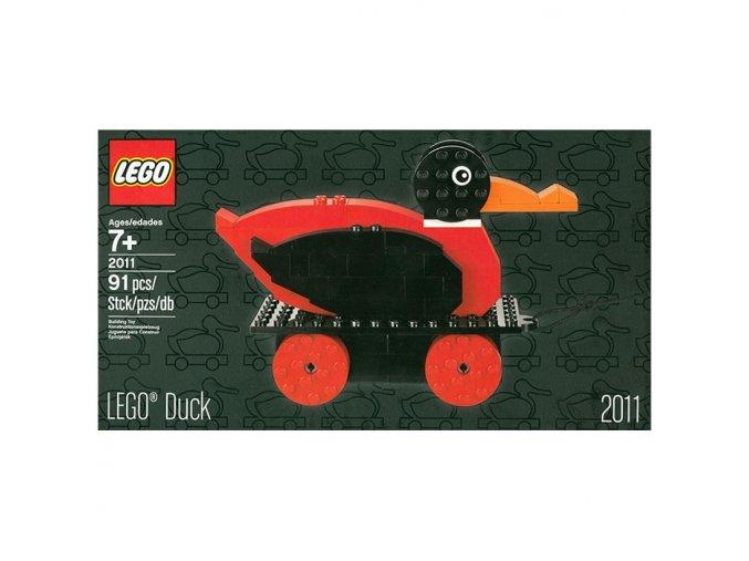 Lego 2011-2 Duck  + volná rodinná vstupenka do Muzea LEGA Tábor v hodnotě 370 Kč