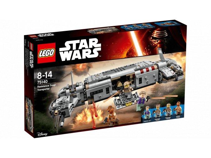 Lego Star Wars 75140 Vojenský transport Odporu