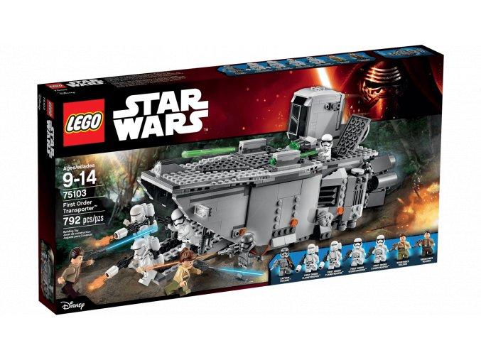 Lego Star Wars 75103 First Order Transporter  + volná rodinná vstupenka do Muzea LEGA Tábor v hodnotě 370 Kč