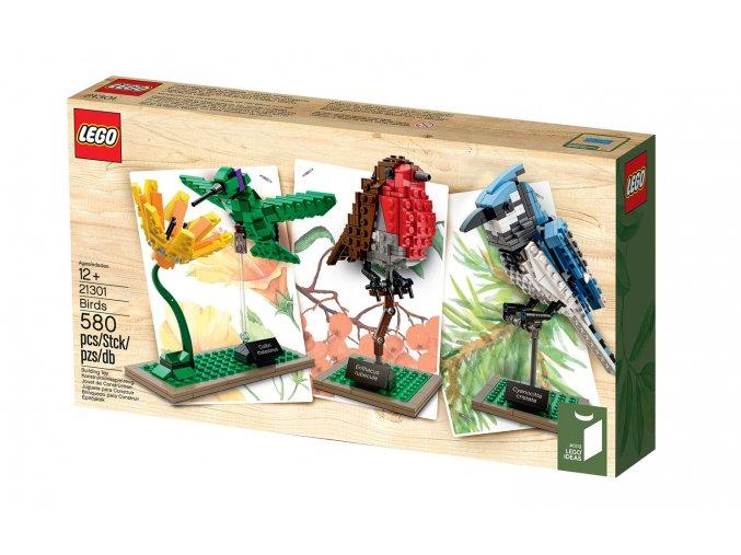 Lego Ideas 21301 Ideas Birds  + volná rodinná vstupenka do Muzea LEGA Tábor v hodnotě 370 Kč