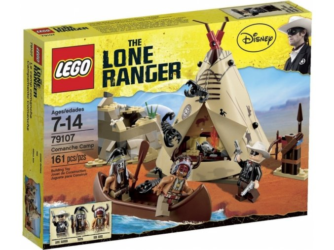 LEGO The Lone Ranger 79107 Tábor komančů
