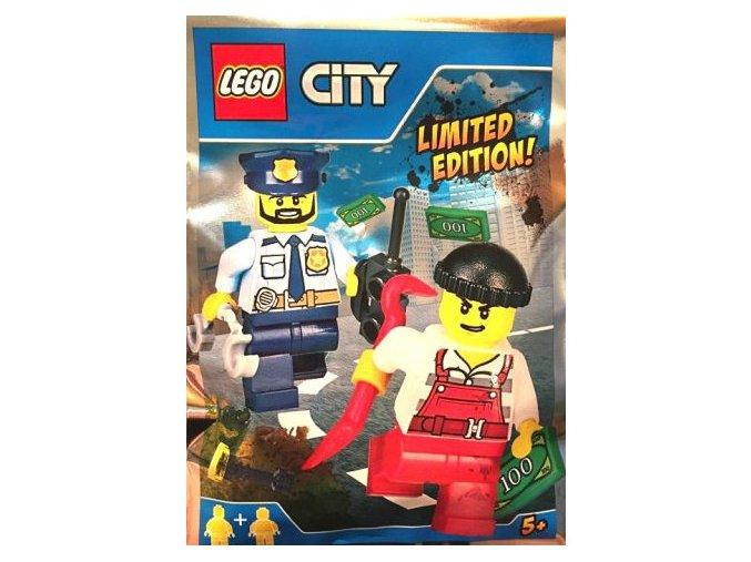 LEGO CITY 951701 Policista a zloději