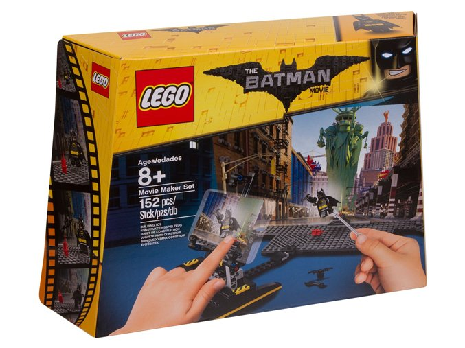 LEGO Batman Movie 853650 Batmanova sada pro filmaře