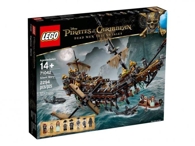 LEGO DISNEY 71042 Silent Mary  + volná rodinná vstupenka do Muzea LEGA Tábor v hodnotě 370 Kč