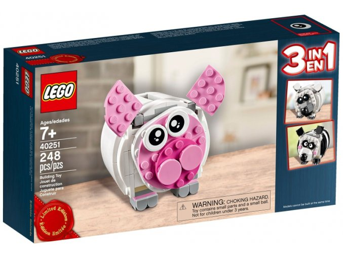 LEGO Limited Edition 40251-Mini Piggy Bank