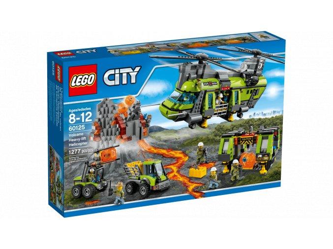 Lego City 60125 Sopečná nákladní helikoptéra  + volná rodinná vstupenka do Muzea LEGA Tábor v hodnotě 370 Kč