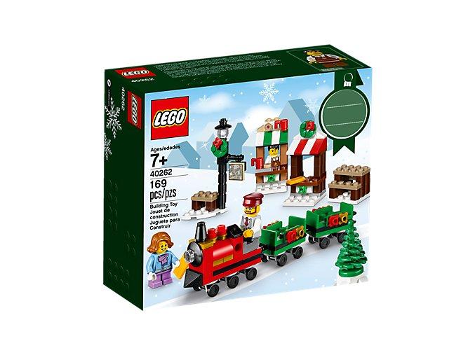 LEGO 40262 Projížďka vánočním vlakem