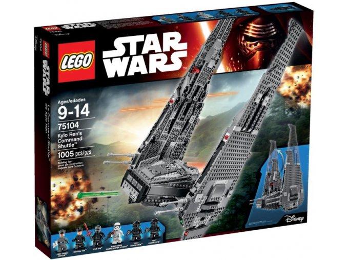 Lego Star Wars 75104 Kylo Ren's Command Shuttle™ (Kylo Renova velitelská loď)  + volná rodinná vstupenka do Muzea LEGA Tábor v hodnotě 370 Kč