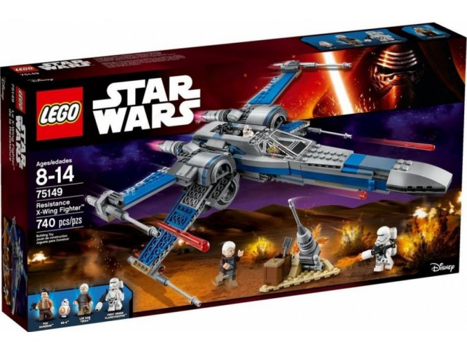 Lego Star Wars 75149 Resistance X-wing Fighter™ (Stíhačka X-wing Odporu)