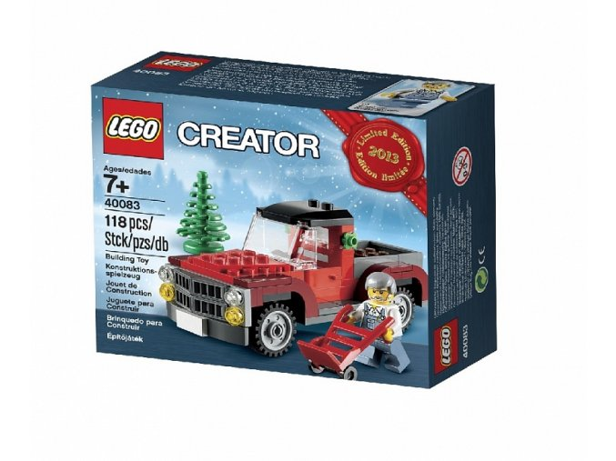 LEGO 40083 Christmas Tree Truck