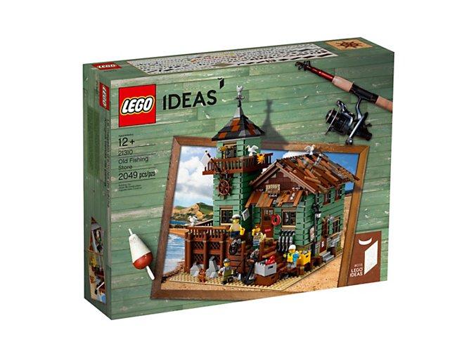 LEGO Ideas 21310 Old Fishing Store  + volná rodinná vstupenka do Muzea LEGA Tábor v hodnotě 370 Kč
