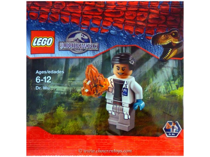 LEGO Jurassic World 5000193818 Dr. Wu polybag